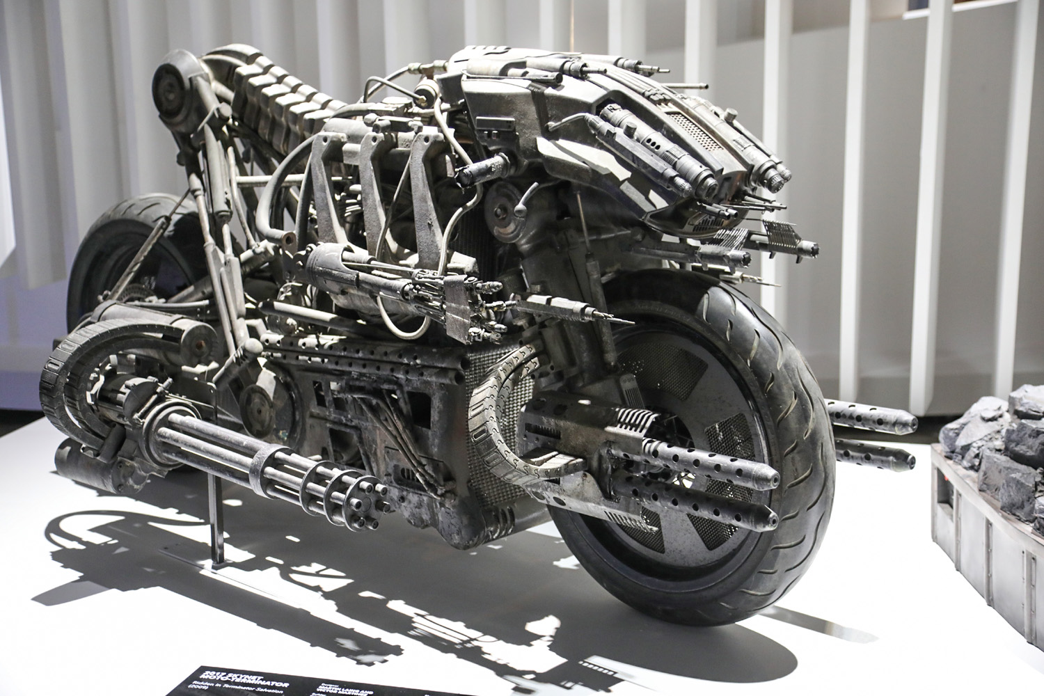 Hollywood Dream Machines: Vehicles of Science Fiction and Fantasy Petersen Automotive Museum motorcycle
