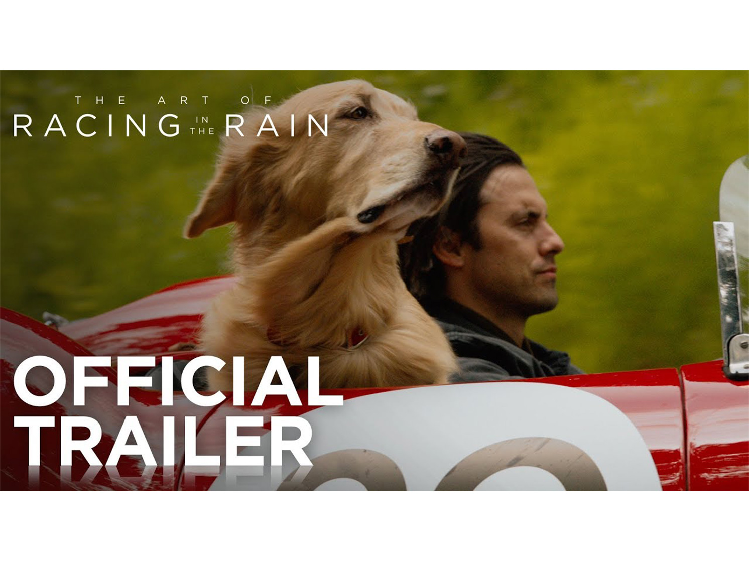 Art of Racing in the Rain trailer is a high-speed rollercoaster of emotion thumbnail