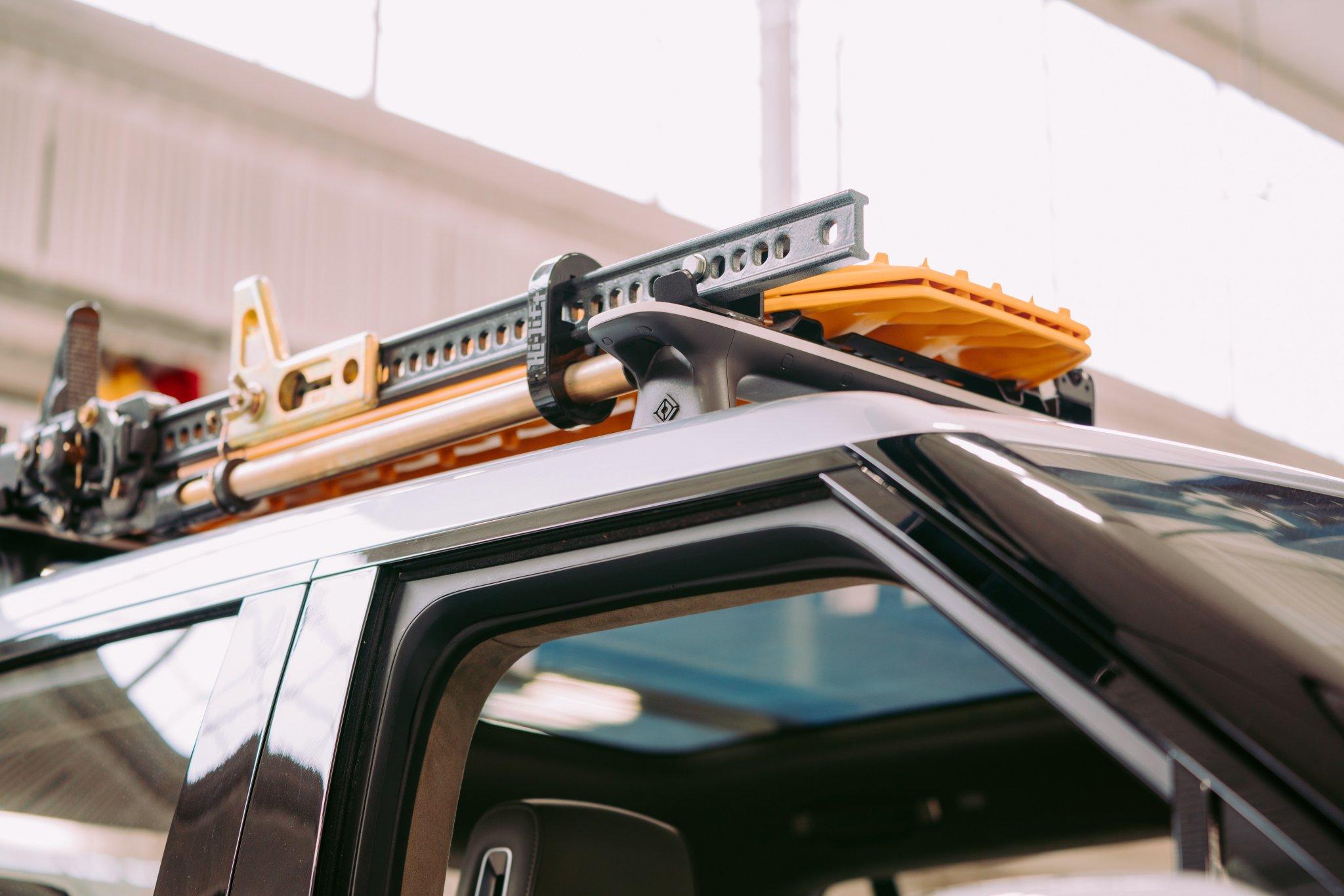 Rivian R1T roof rack