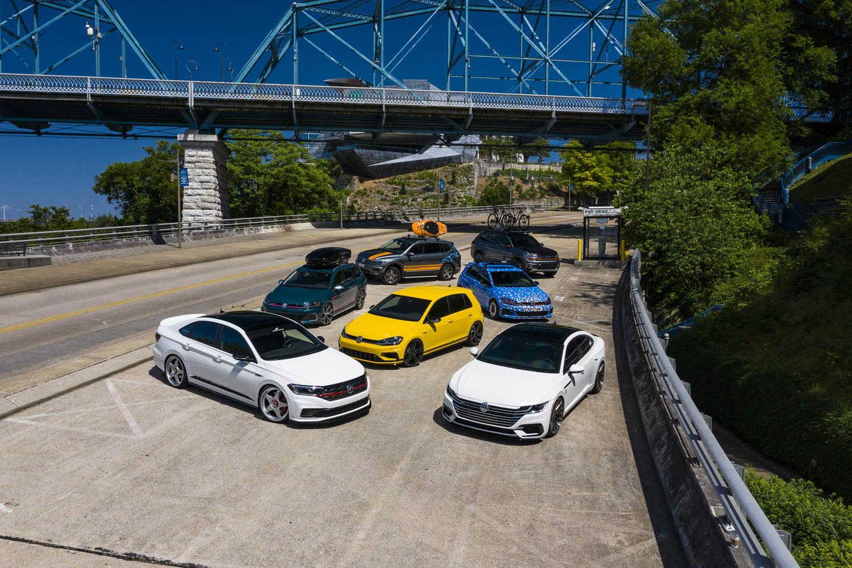 Volkswagen concepts fleet