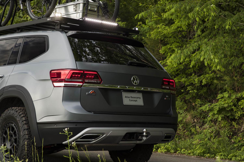 Volkswagen Atlas Basecamp Concept rear