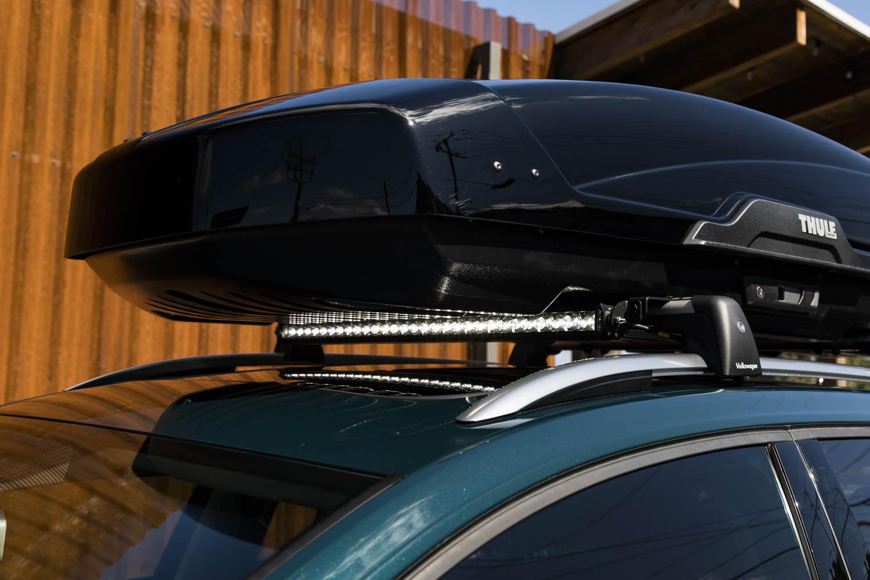 Volkswagen Golf Alltrack Combi Concept roof rack