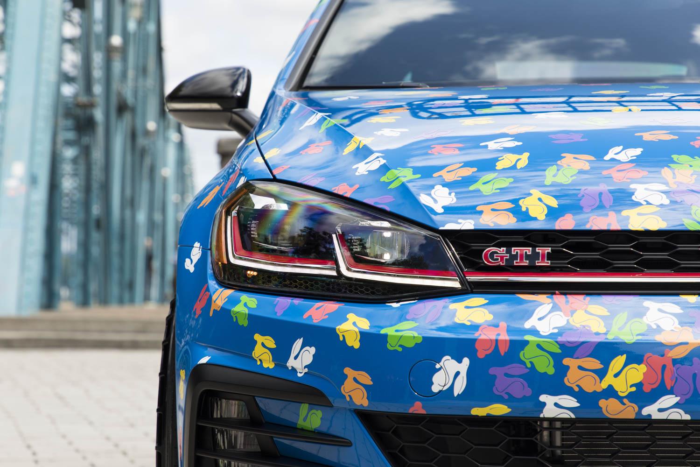 Volkswagen Golf GTI Rabbit Confetti Concept front
