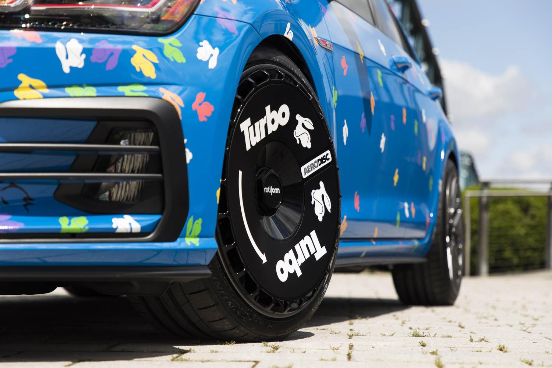 Volkswagen Golf GTI Rabbit Confetti Concept wheel detail