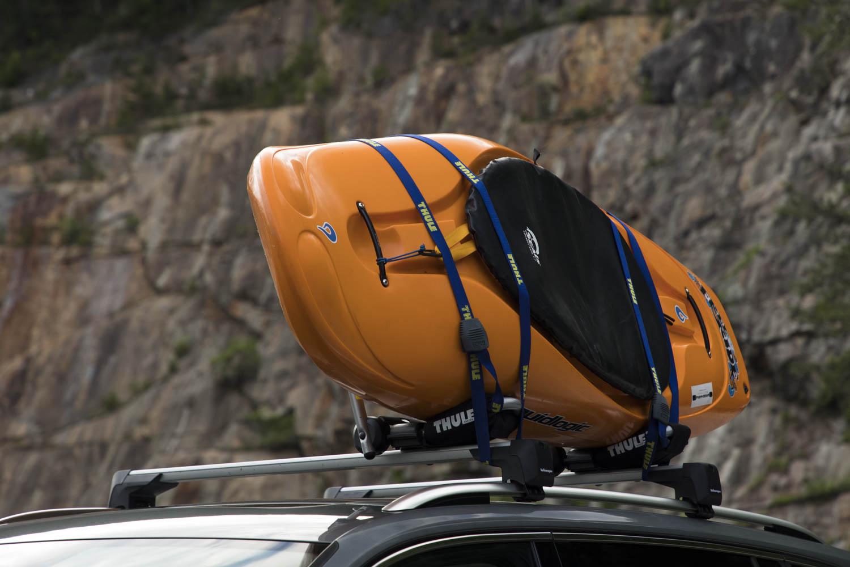 Volkswagen Tiguan Adventure Concept kayak
