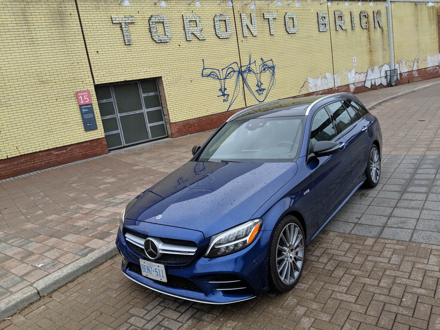 Mercedes-AMG C 43 4Matic Wagon front 3/4