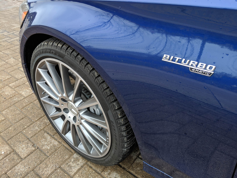 Mercedes-AMG C 43 4Matic Wagon wheel detail