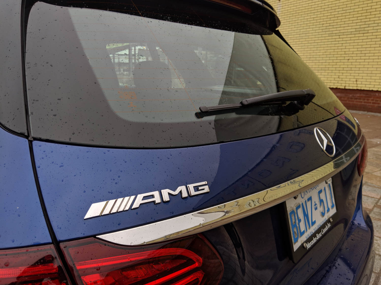 Mercedes-AMG C 43 4Matic Wagon badge