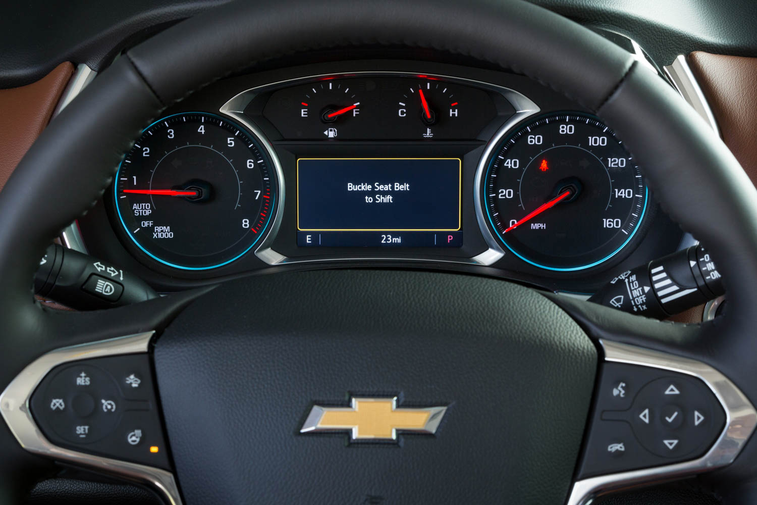 Chevrolet's Teen Driver system buckle up
