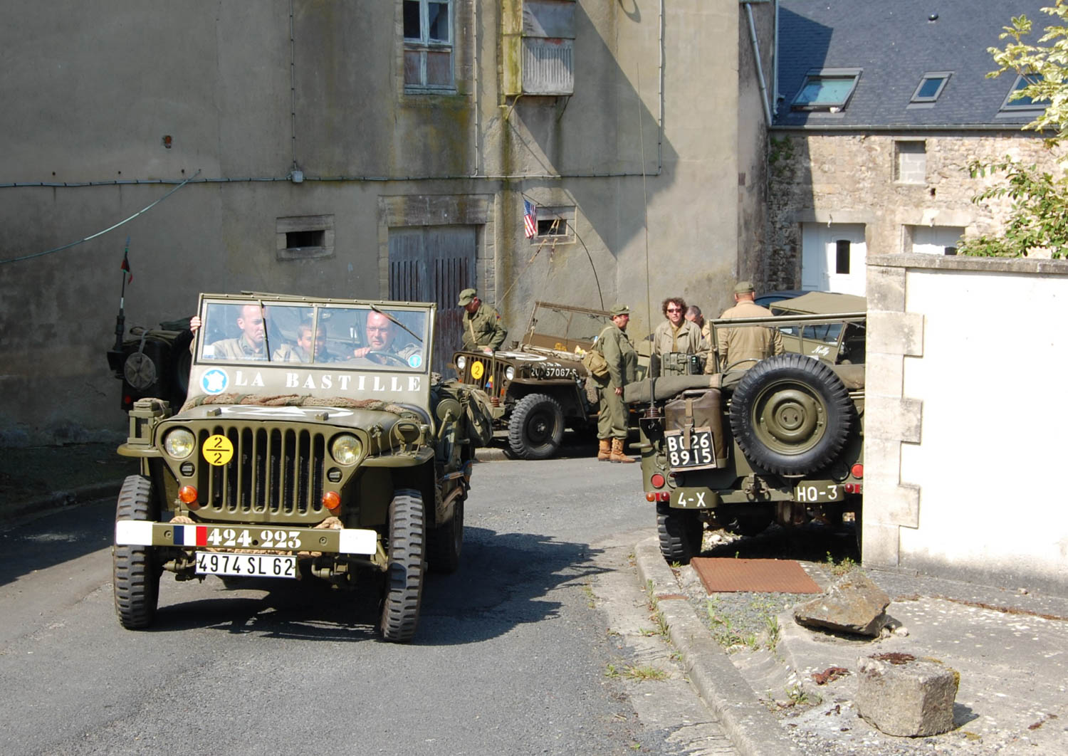 Jeep owners converge on Vierville for the annual collector swap meets around the D-Day anniversary.