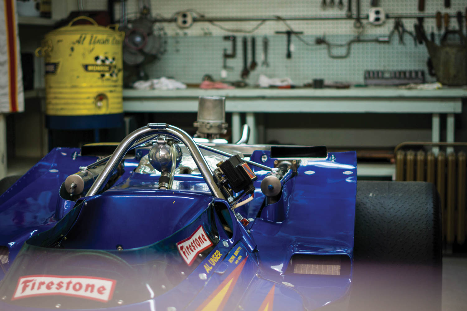 Al Unser drove the Johnny Lightning Special to an Indy 500 victory in his dominant 1970 season. Now it resides in the IMS Museum.