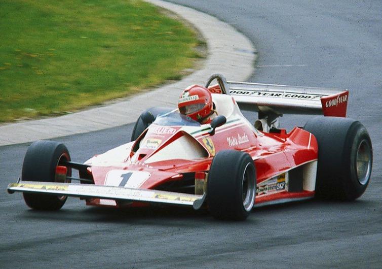Niki Lauda 1976 Ferrari 312 T2