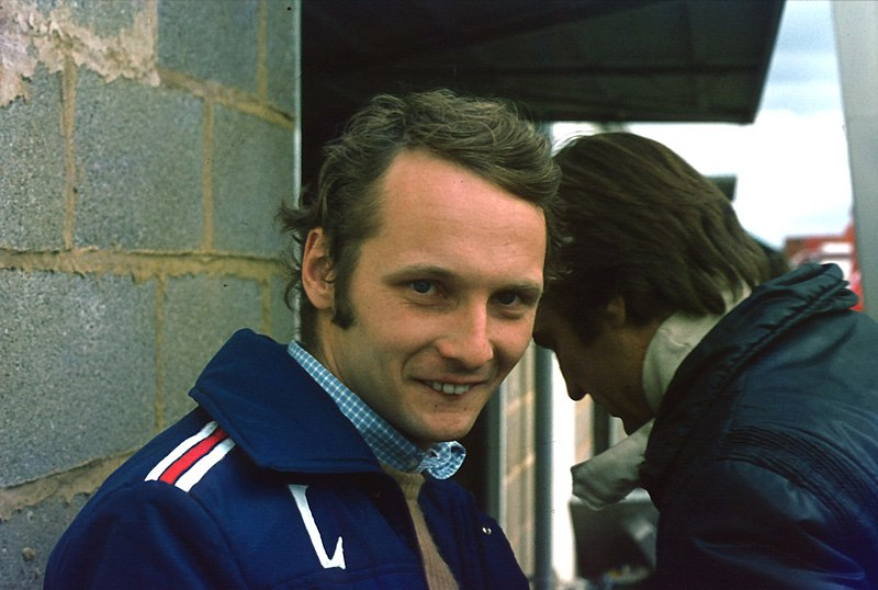 Niki Lauda 1975 British Grand Prix