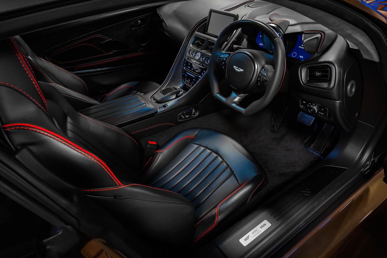 Aston Martin On Her Majesty's Secret Service edition DBS Superleggara interior