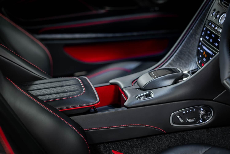Aston Martin On Her Majesty's Secret Service edition DBS Superleggara center console