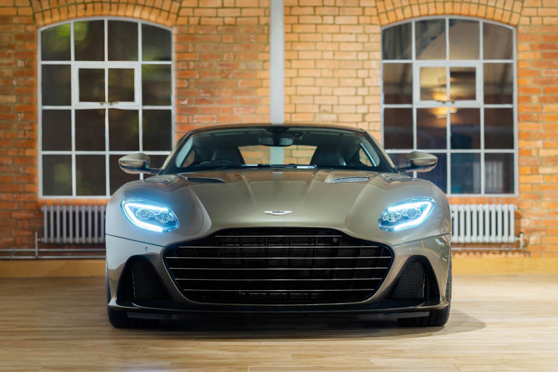 Aston Martin On Her Majesty's Secret Service edition DBS Superleggara front