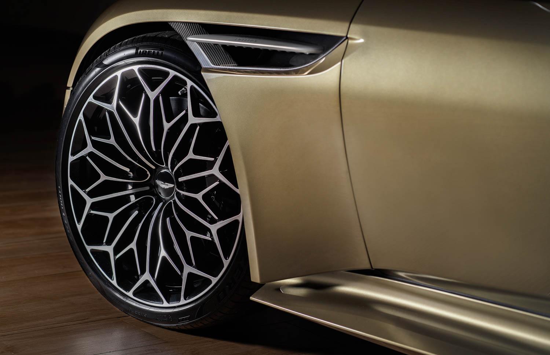 Aston Martin On Her Majesty's Secret Service edition DBS Superleggara wheel detail