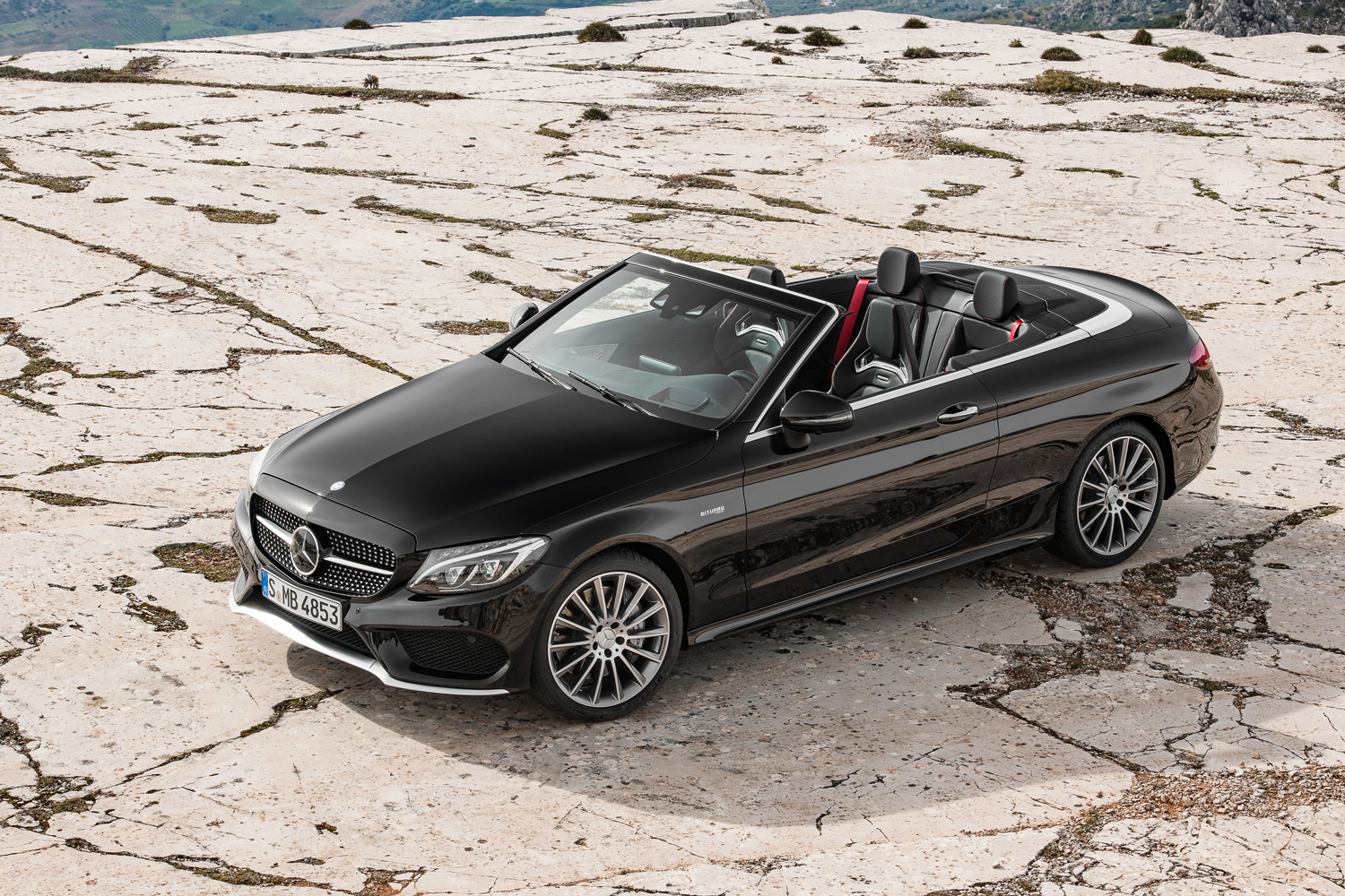 2017 Mercedes-AMG C43 Cabriolet overhead