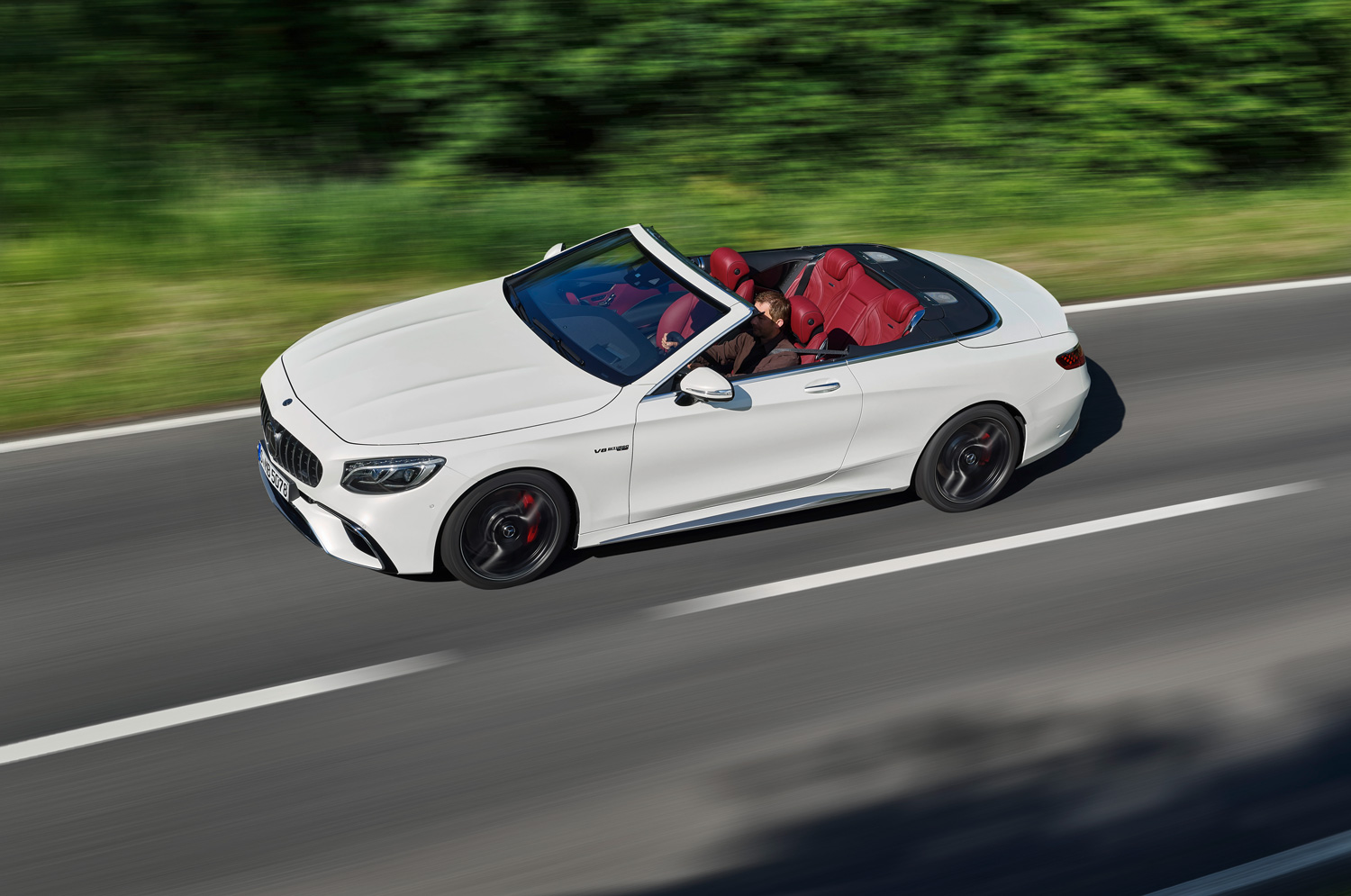 2018 Mercedes-AMG S63 Cabriolet