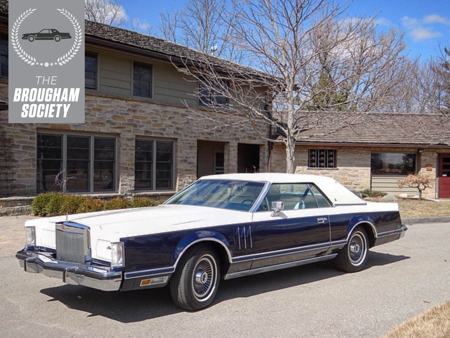 The 1979 Lincoln Continental Mark V was a designer's delight