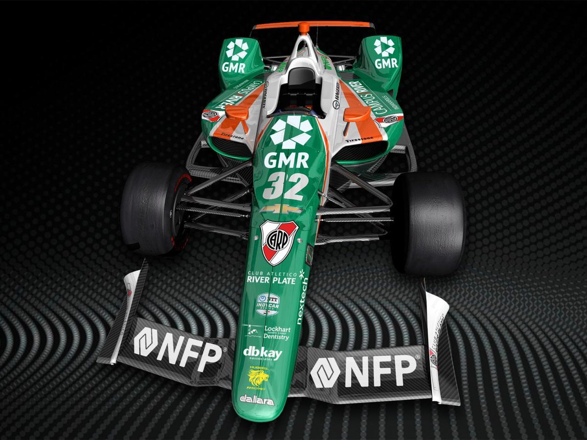 Juncos Racing Indy500 race car