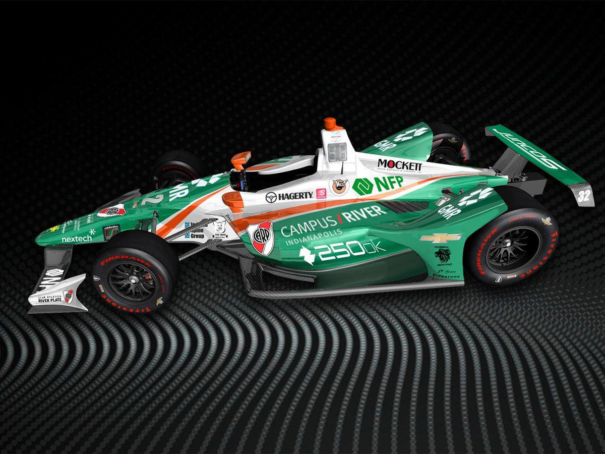 Juncos Racing F1 car