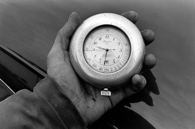 Bugatti stop watch