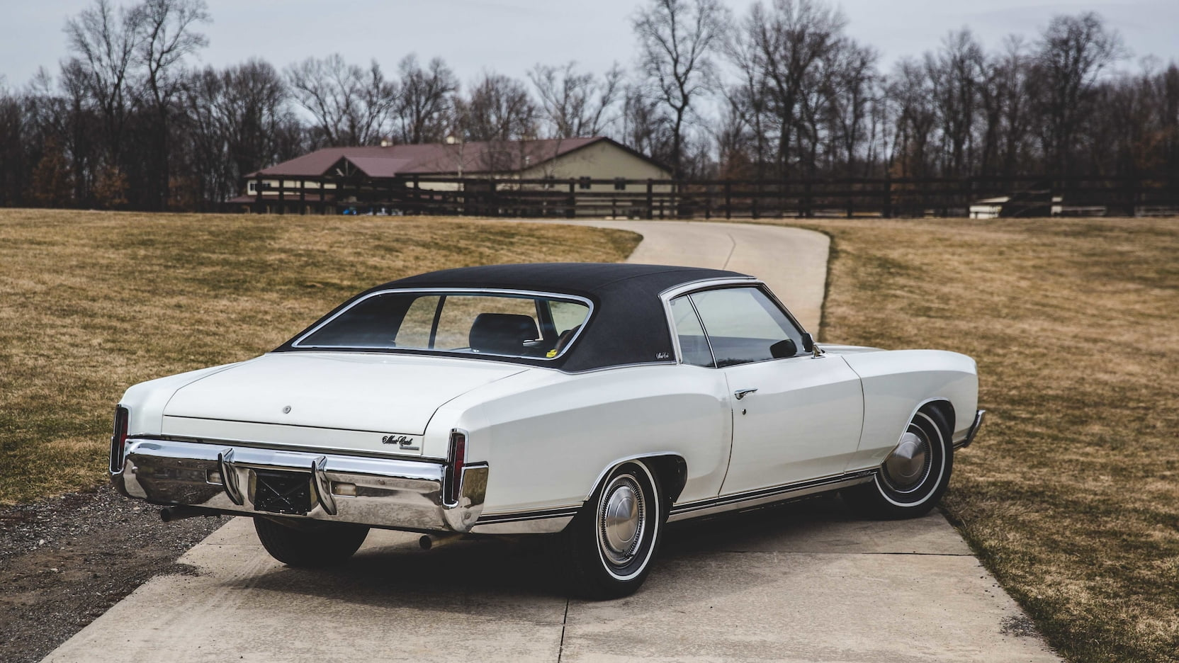 1970 Monte Carlo SS rear