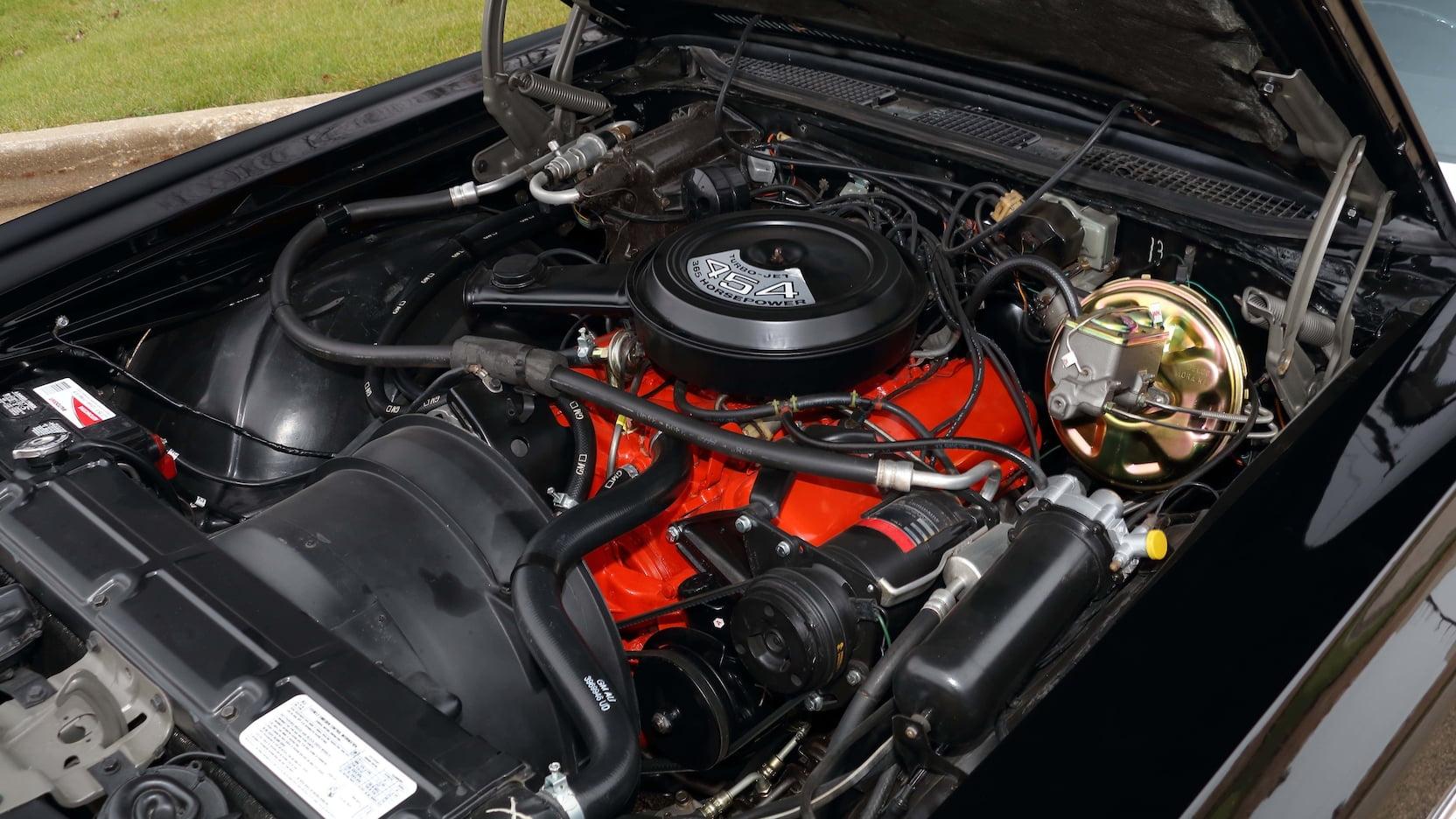 1971 Monte Carlo SS 454 engine