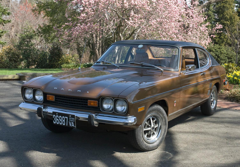 1973 Mercury Capri front 3/4
