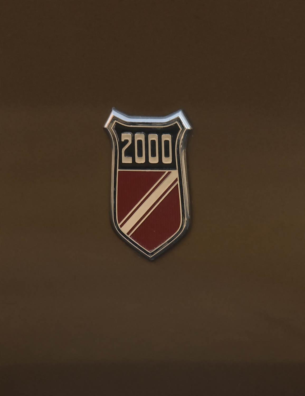 1973 Mercury Capri badge