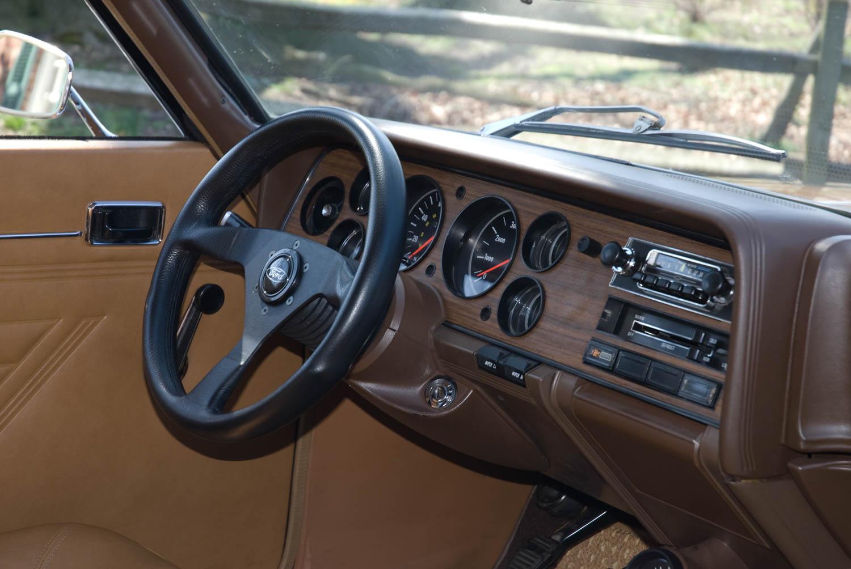 1973 Mercury Capri dashboard
