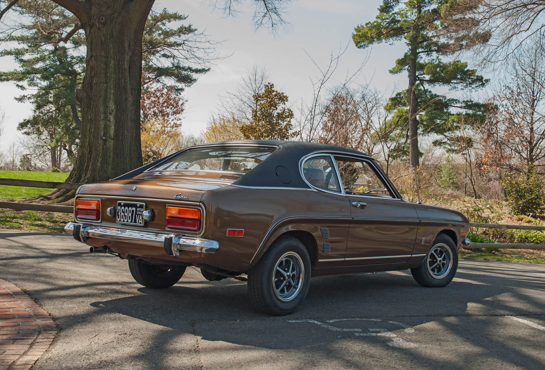 1973 Mercury Capri rear 3/4
