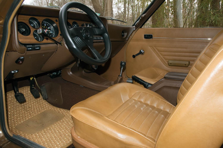 1973 Mercury Capri seat detail