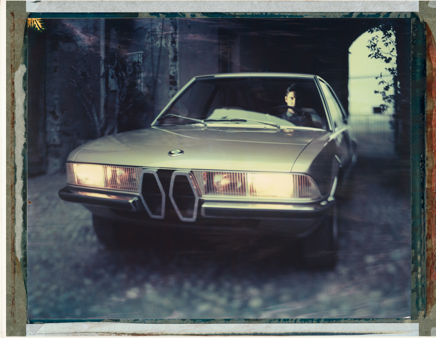 vintage photo of BMW Garmisch