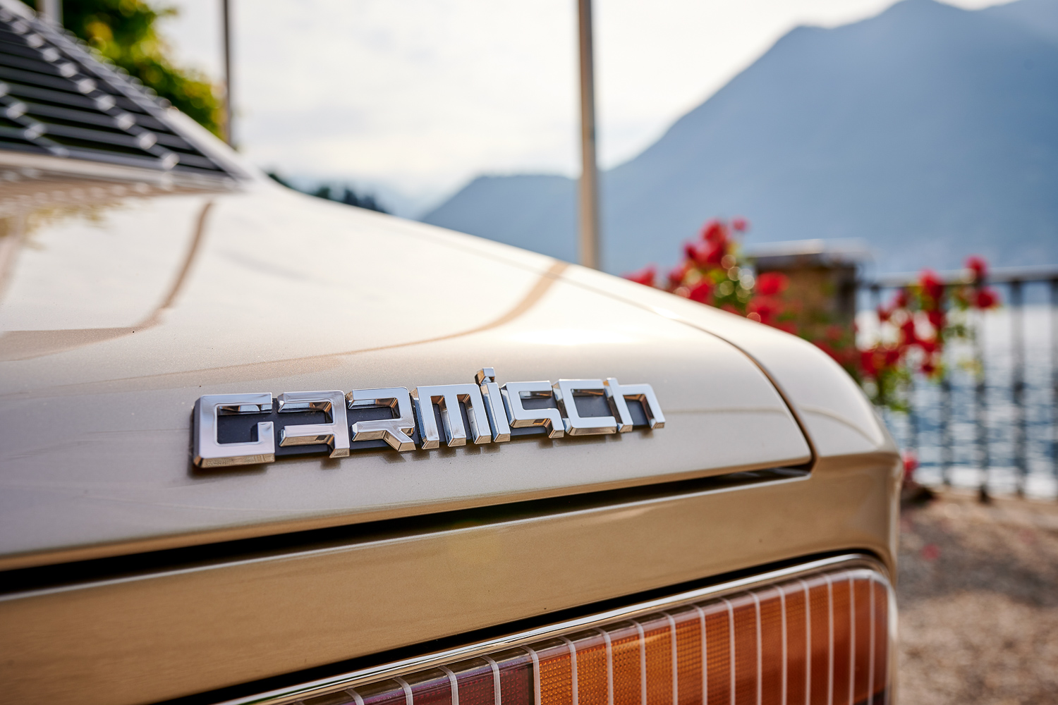 BMW Garmisch badge
