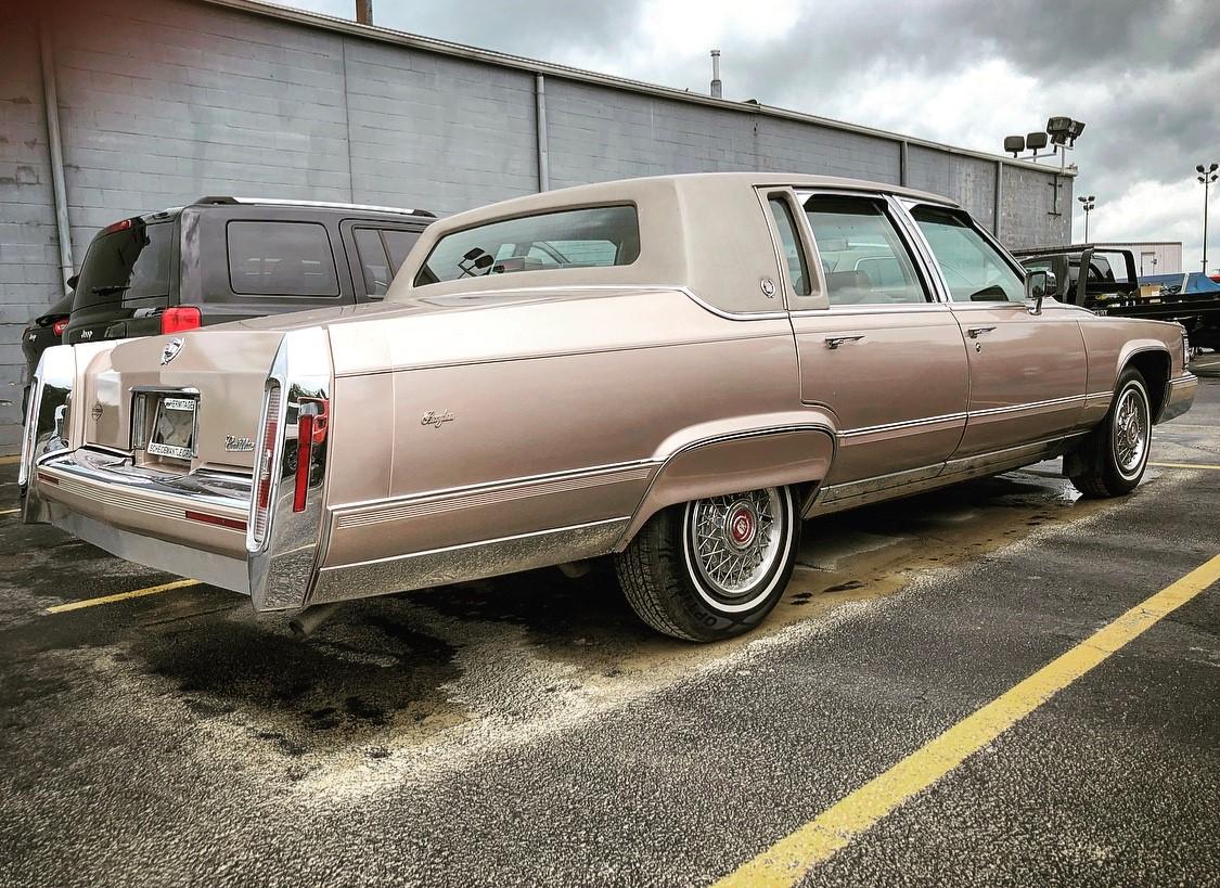 1992 Cadillac Brougham rear