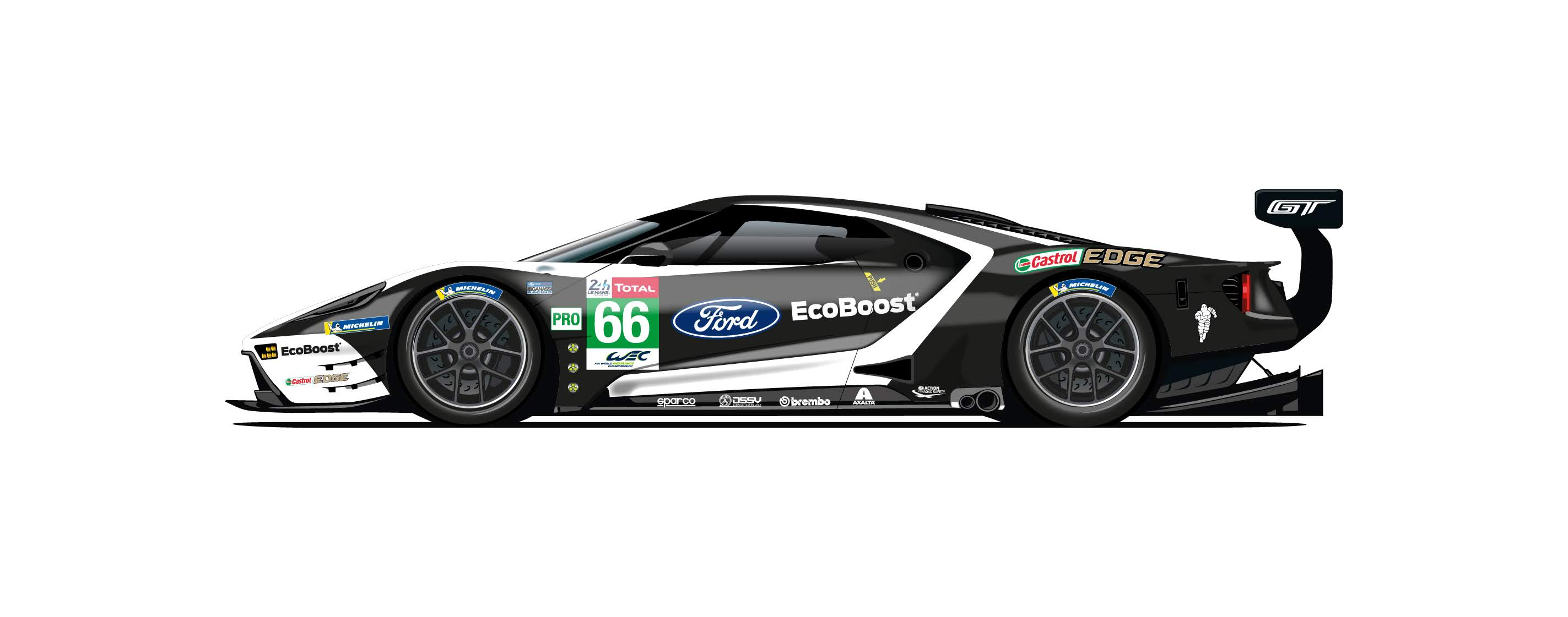 Ford Pays Homage To Le Mans With Celebration Liveries