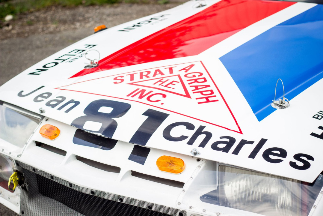 1982 Chevrolet Camaro IMSA GTO hood