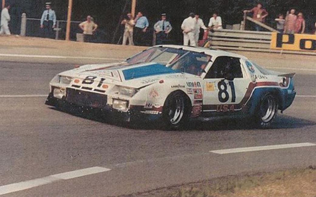 1982 Chevrolet Camaro IMSA GTO racing