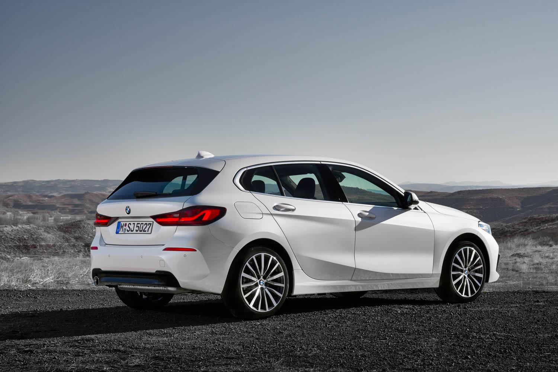 white BMW 1 Series