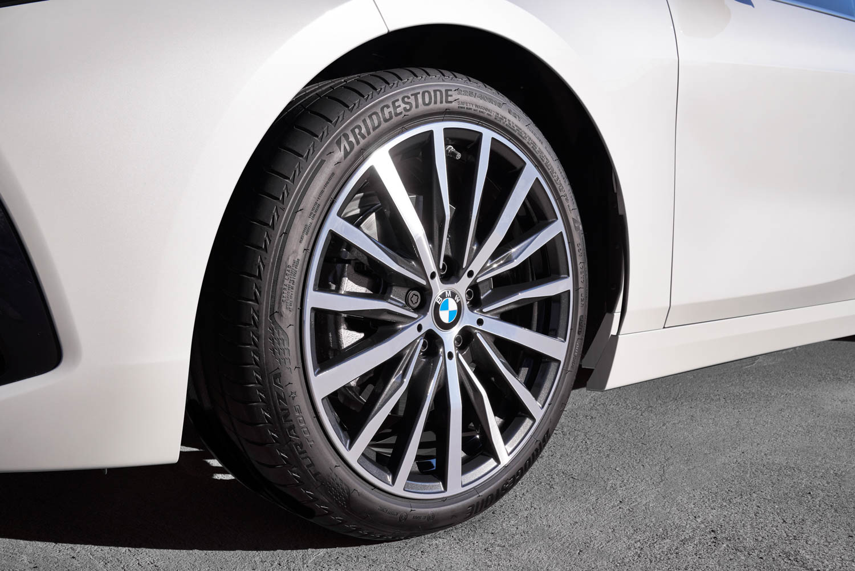 BMW 1 Series wheel detail