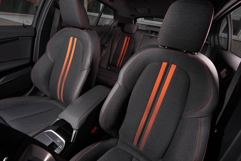 BMW 1 Series seat detail