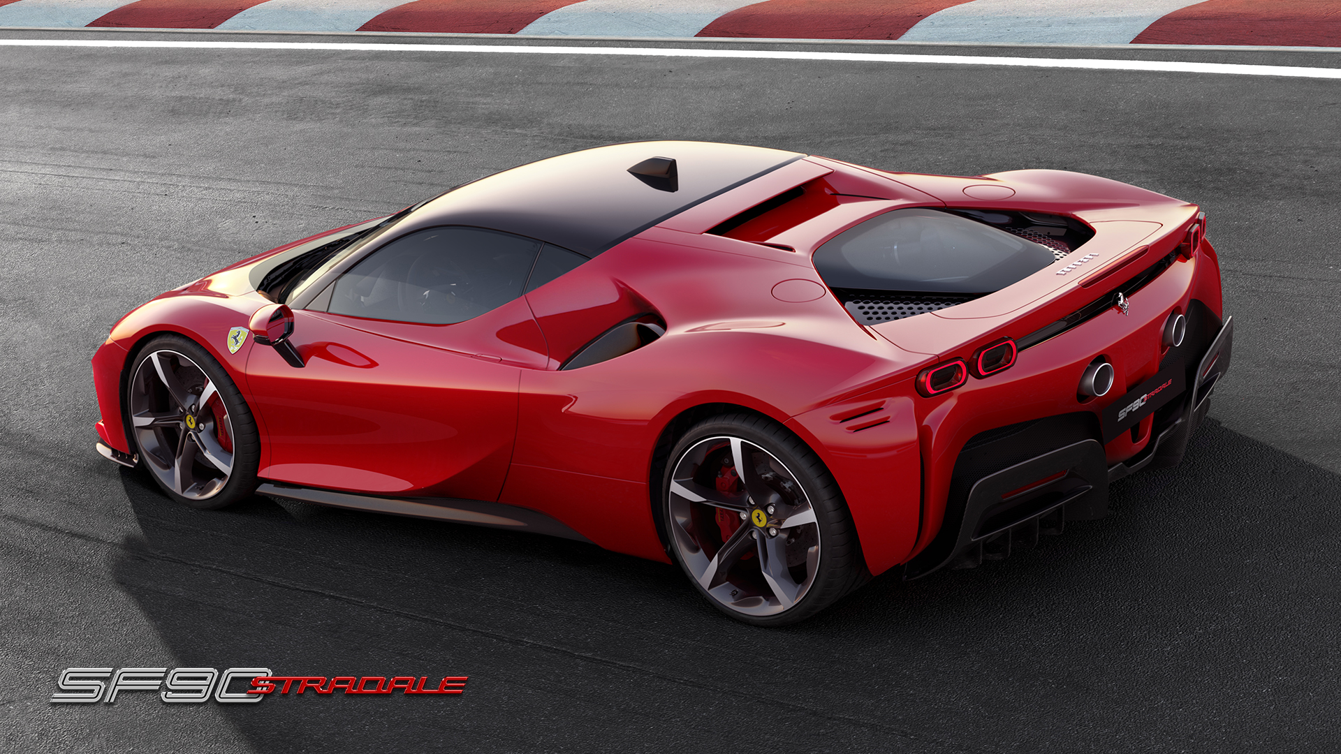 Ferrari SF90 Stradale rear 3/4