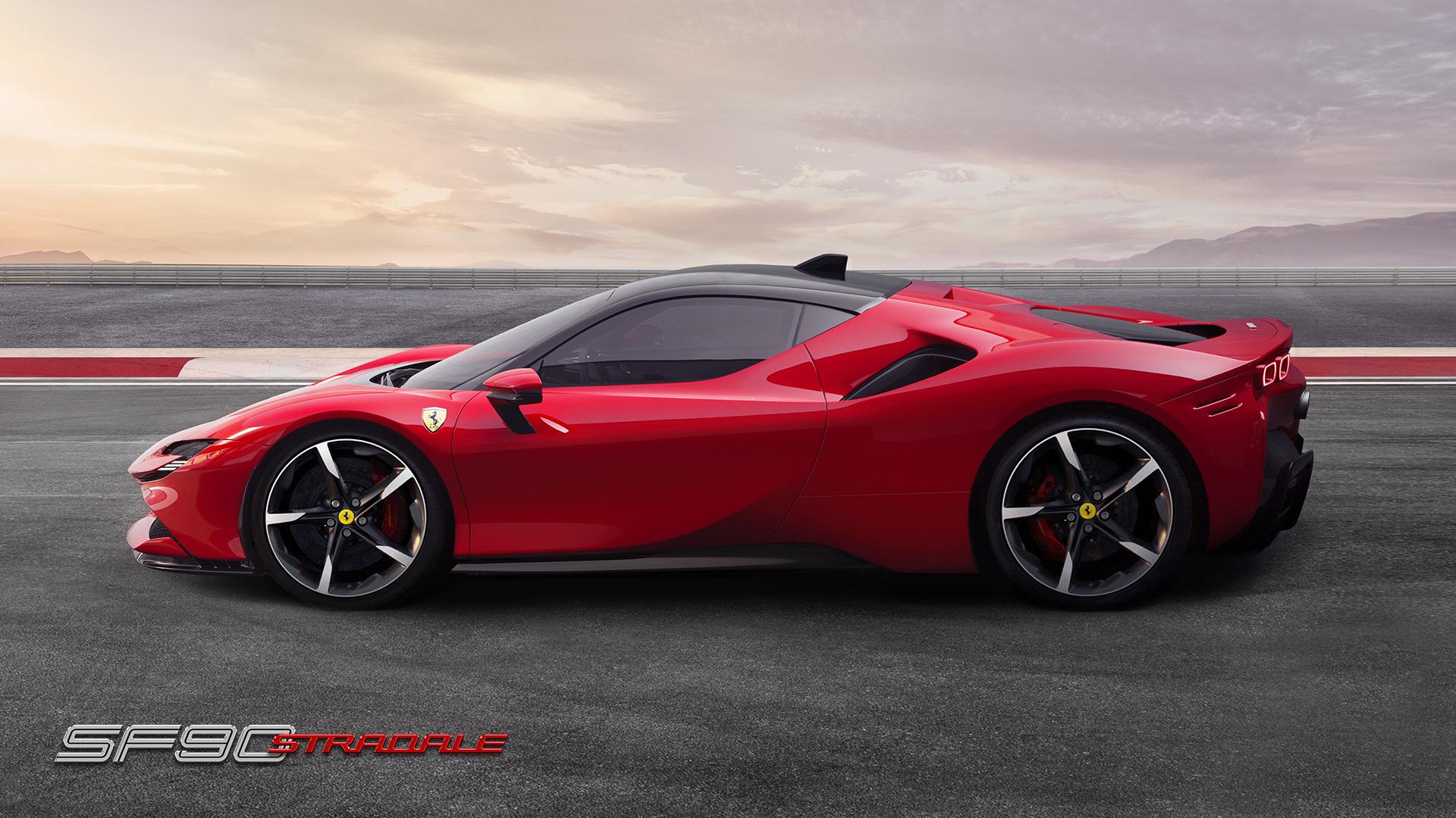 Ferrari SF90 Stradale profile