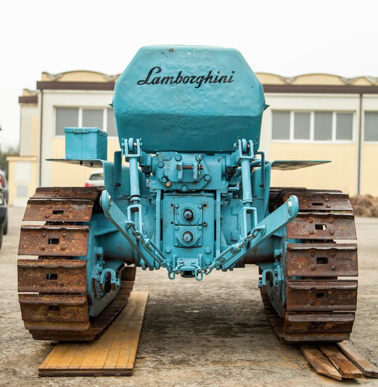 1962 Lamborghini 5C TL Tractor rear