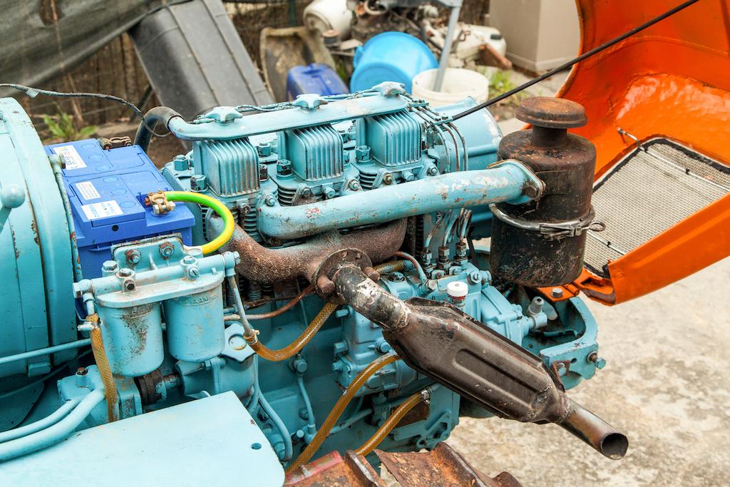1962 Lamborghini 5C TL Tractor engine