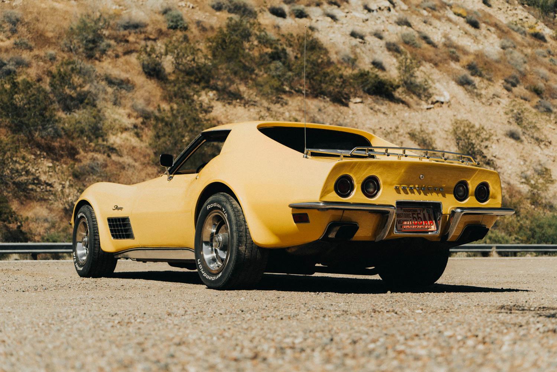 1972 Chevrolet Corvette rear 3/4