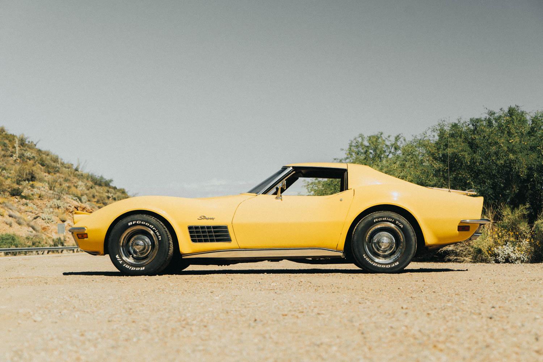 1972 Chevrolet Corvette side profile