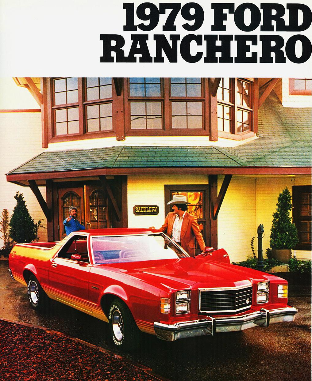 1979 Ford Ranchero ad